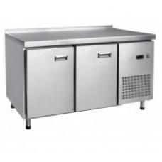 Стол холодильный среднетемпературный СХС-60-01 неохлаждаемая столешница с бортом (дверь, дверь)